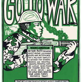Go to War by Ricardo Levins Morales