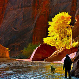 Going Home Again Canyon De Chelly National Park by Bob and Nadine Johnston