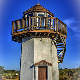 Gold Beach Lighthouse by Bob Hislop