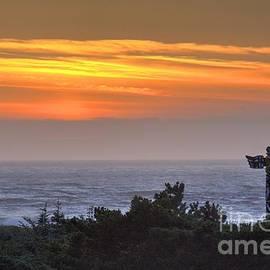 Gold Beach Sunset by Bob Hislop