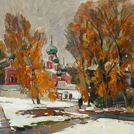 Juliya Zhukova - Golden autumn under snow