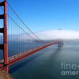 Golden Gate Bridge - Into the Mist by Pete Edmunds
