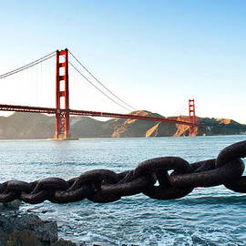 Golden Gate Bridge With Chain by Todd Aaron