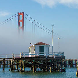 Golden Gate in the Fog by Bill Gallagher