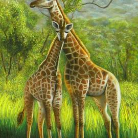 Wendy Koehrsen - Golden Giraffe Morning