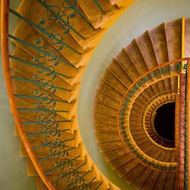 Jaroslaw Blaminsky - Golden ornamented staircase