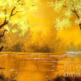 Golden   Pond by Shasta Eone