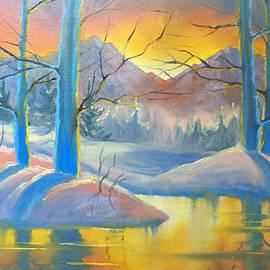 Golden Sunrise by Teresa Ascone