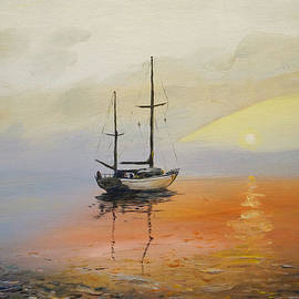 Alan Lakin - Golden Sunset