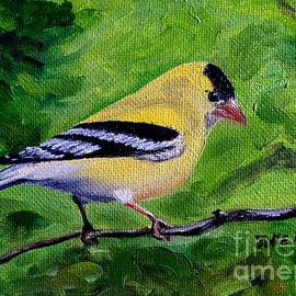 Goldfinch by Julie Brugh Riffey