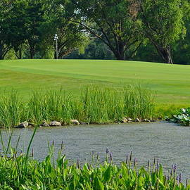Frozen in Time Fine Art Photography - Golf Course Lay Up
