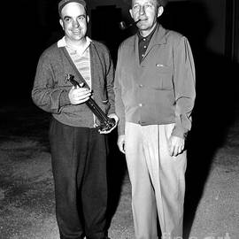 California Views Mr Pat Hathaway Archives - First Lieutenant  William F. Brotbeck and Bing Crosby At Bing Crosby National Pro-am Golf Champ