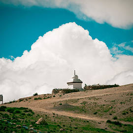 Raimond Klavins - Gompa near Manasarovar lake in Tibet