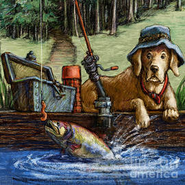 Gone Fishing by Kathleen Harte Gilsenan