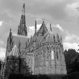 Gothic Church In Black and White by John Telfer