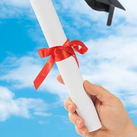 Amanda Elwell - Graduation Scoll And Cap