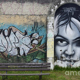 Graffiti Art Curitiba Brazil 1 by Bob Christopher