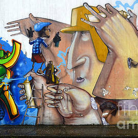 Graffiti Art Curitiba Brazil  19 by Bob Christopher