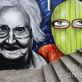 Graffiti Art Curitiba Brazil 3 by Bob Christopher
