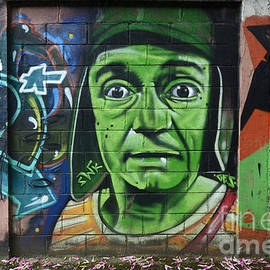 Graffiti Art Curitiba Brazil 6 by Bob Christopher