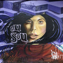 Graffiti Art Rio De Janeiro 3 by Bob Christopher