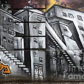 Graffiti Art Rio De Janeiro 2 by Bob Christopher