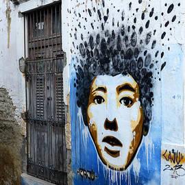 Graffiti Olinda Brazil 1 by Bob Christopher
