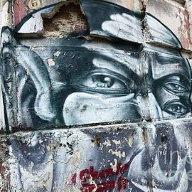 Graffiti Recife Brazil 1 by Bob Christopher