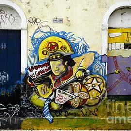 Graffiti Recife Brazil 5 by Bob Christopher