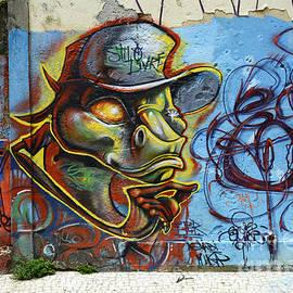 Graffiti Recife Brazil 6 by Bob Christopher