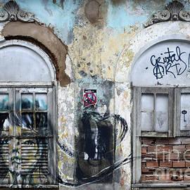 Graffiti Salvador Brazil 12 by Bob Christopher
