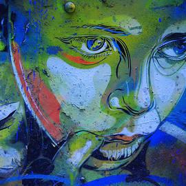Graffiti Thoughtful Child by Victoria Herrera