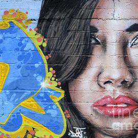 Grafitti Art Calama Chile by Bob Christopher