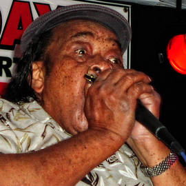 Grammy Award Winner James Cotton by Mike Martin
