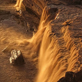 Grand Falls by Priscilla Burgers