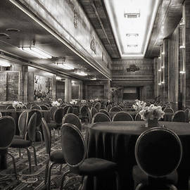 Thomas Woolworth - Grand Salon 05 Queen Mary Ocean Liner BW
