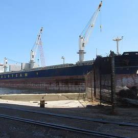 Anita Burgermeister - Great Lakes Ship Polsteam 4