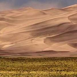 Great Sand Dunes In Colorado by Dan Sproul