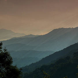 Great Smoky Mountains Blue Ridge Parkway by Patti Deters