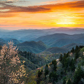 Dave Allen - Great Smoky Mountains Spring Sunset Landscape Photography