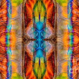 Omaste Witkowski - Great Spirit Abstract Pattern Artwork by Omaste Witkowski