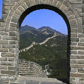 Great Wall Arch by Sally Weigand