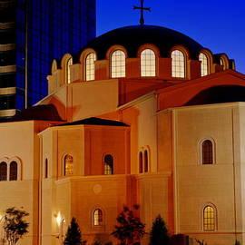 Greek Church Columbia SC  by Walter Holland