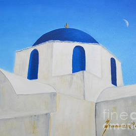 Jerome Stumphauzer - Greek Island Church