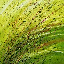 Ismeta Gruenwald - Green Landscape - Abstract Art