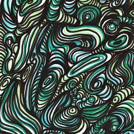 Green Maze by Sarah Loft