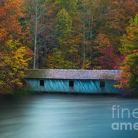 T Lowry Wilson - Green Mountain Covered Bridge Huntsville Alabama