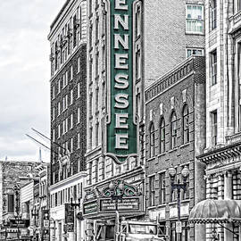 Sharon Popek - Green Tennessee Theatre Marquee