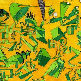 Green Tubes by Thomas Olsen