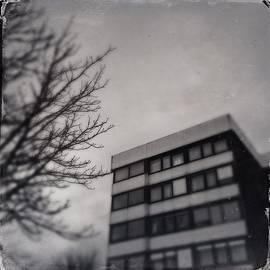 Grey urban architecture